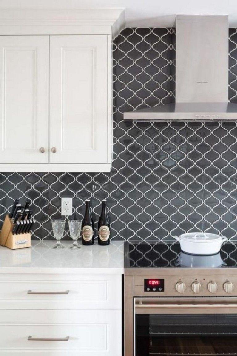 40 Luxury Kitchen Backsplash Decor Ideas Kitchenbacksplash Kitchendecor K Patterned Kitchen Tiles Kitchen Backsplash Tile Designs Kitchen Backsplash Designs