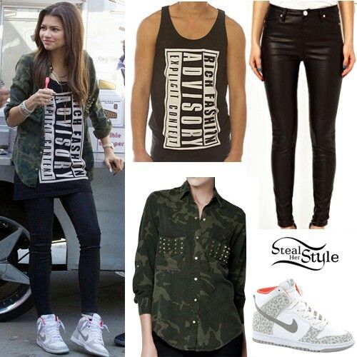 915f51a4084c Inspiration style love it. ZENDAYA CLOTHES