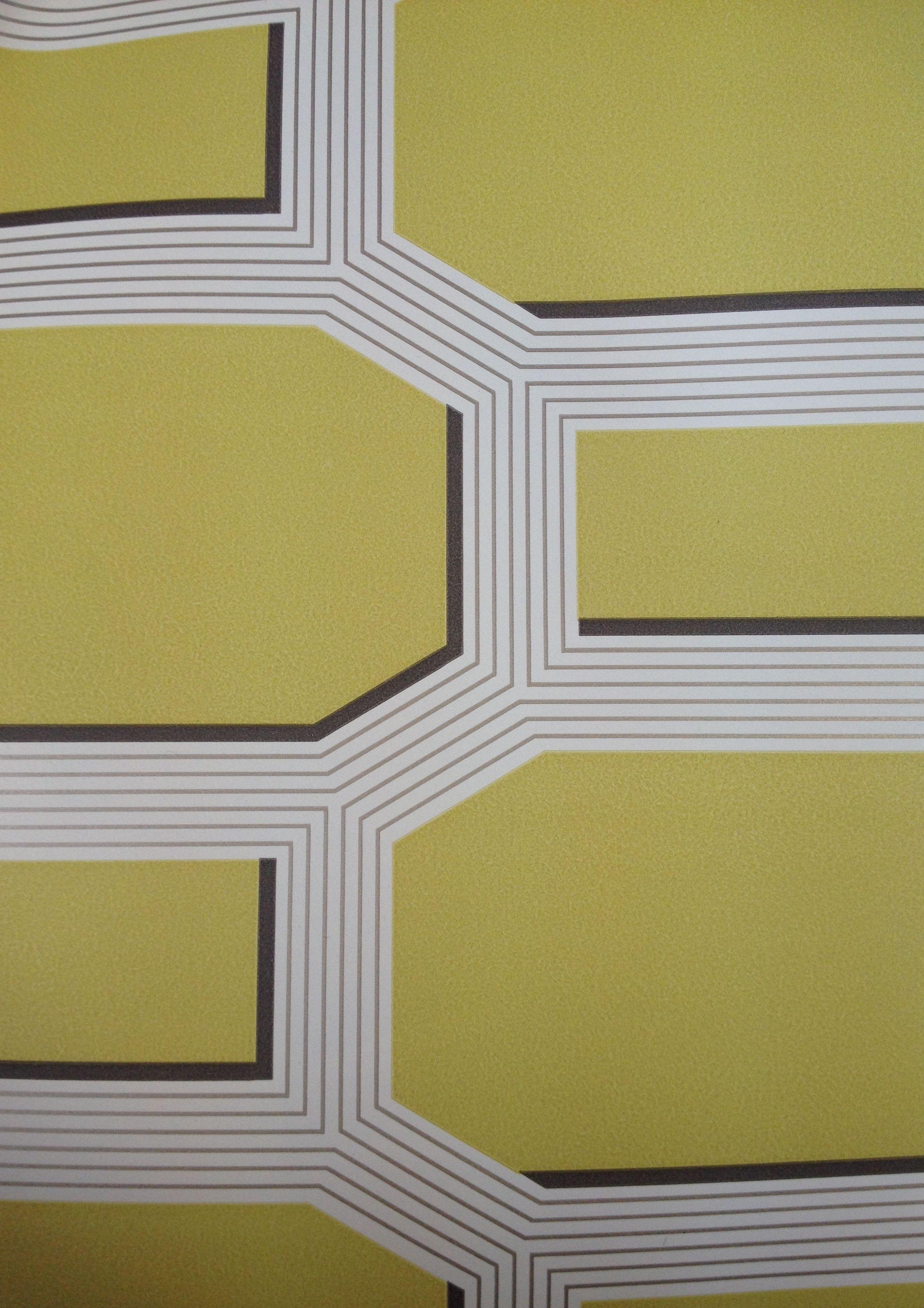 ROMO Octa Wallcovering Acacia W360/03 Contemporary Geometric Design ...