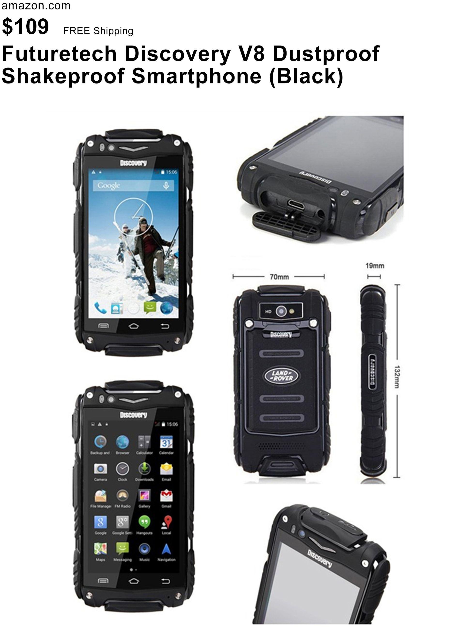 Futuretech Discovery V8 Dustproof Shakeproof Smartphone