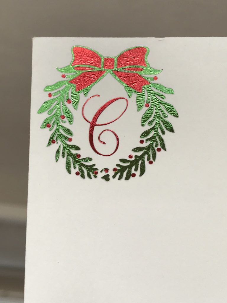 Customized Christmas Card Envelope with Cricut Foil Iron-On ...