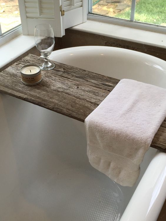 After finding these lovely images of wooden bath caddies, just by ...