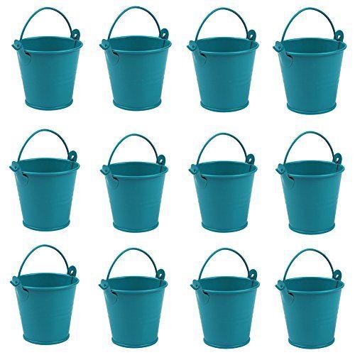 Aerwo Mini Metal Bucket Tin Candy Box Buckets Souvenirs Https Www Amazon Com Dp B01c5owep Gifts For Wedding Party Candy Bar Wedding Candy Wedding Favors
