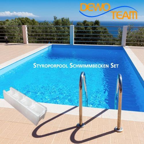 Styroporpool XL 1000x500x150cm Set Zukünftige Projekte Pinterest