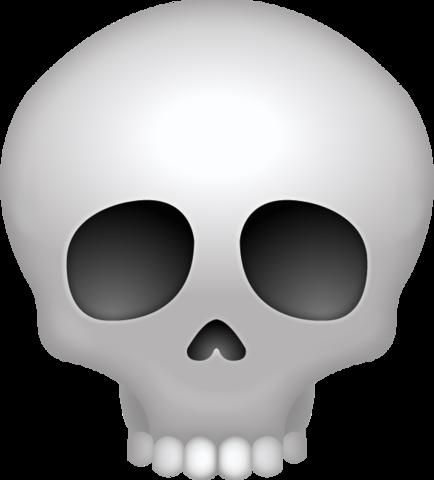 Skull Emoji Free Download Ios Emojis Skull Emoji Cool Emoji