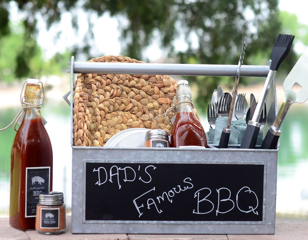 Diy fathers day bbq lovers gift with images fathers