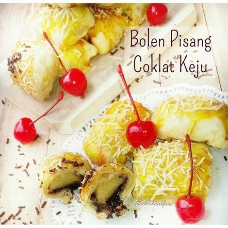 Resep Bolen Pisang Coklat Keju Oleh Aktrinurfaa Resep Makanan Makanan Dan Minuman Resep Makanan