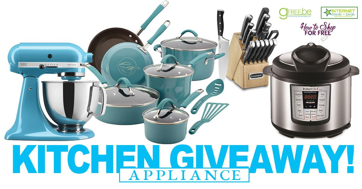 Appliance giveaway 2018
