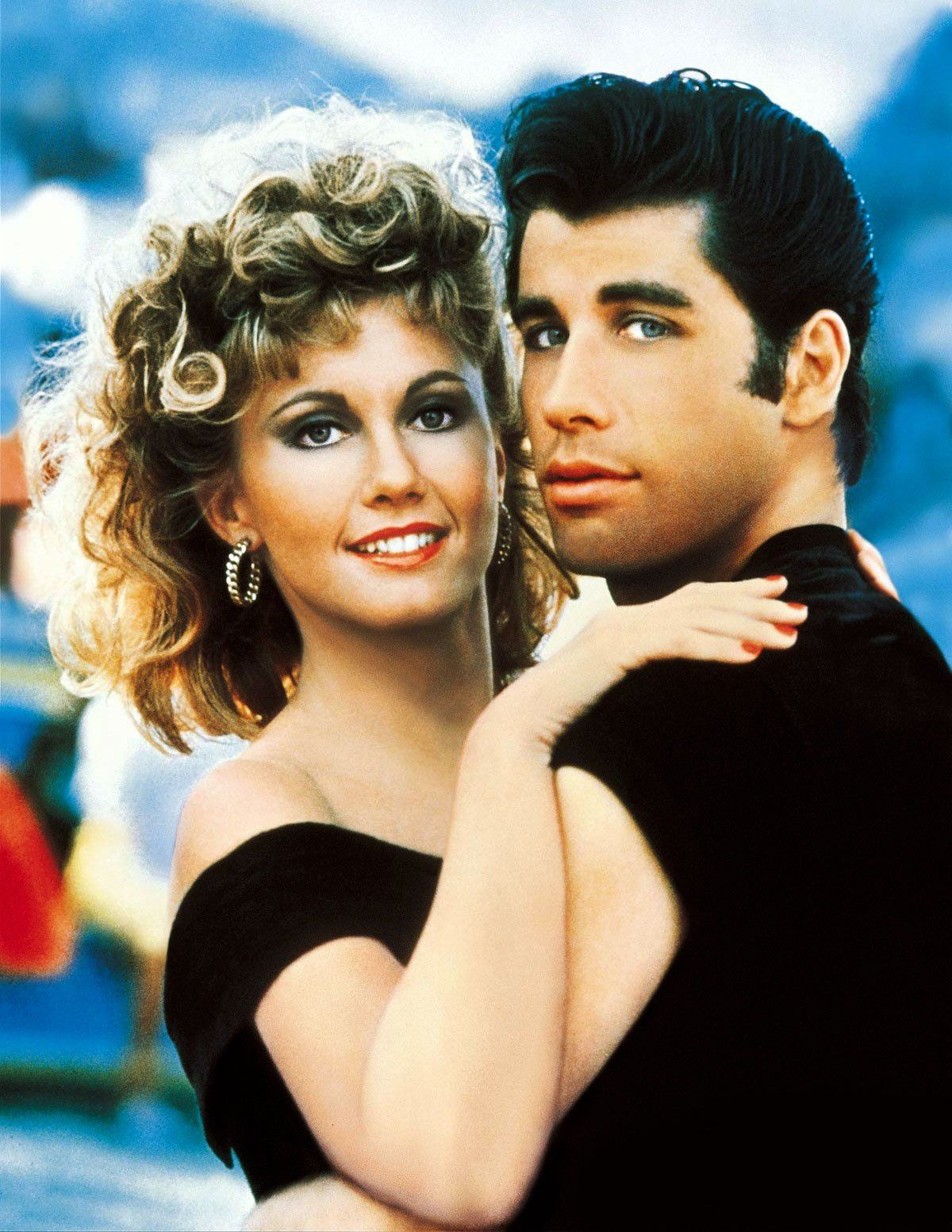 Sandy & Danny from Grease (Olivia Newton-John & John Travolta)