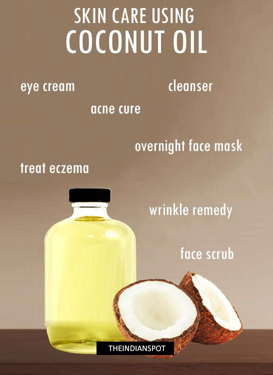 10 Best Skin Care Treatments Using Coconut Oil Skin Care Treatments Coconut Oil For Skin Coconut Oil For Acne