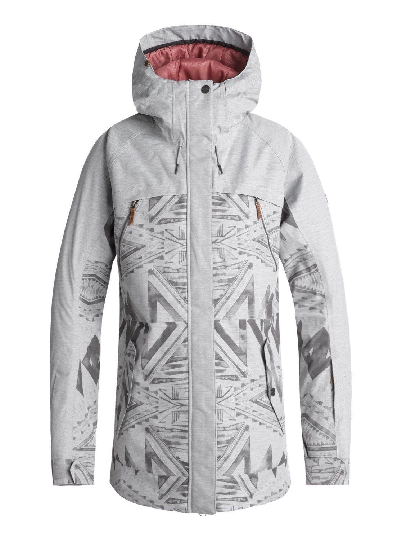26f72deb0973 Сноубордическая куртка Roxy ( ERJTJ03166 ) TRIBE JK J SNJT 2019 SJE1 ...