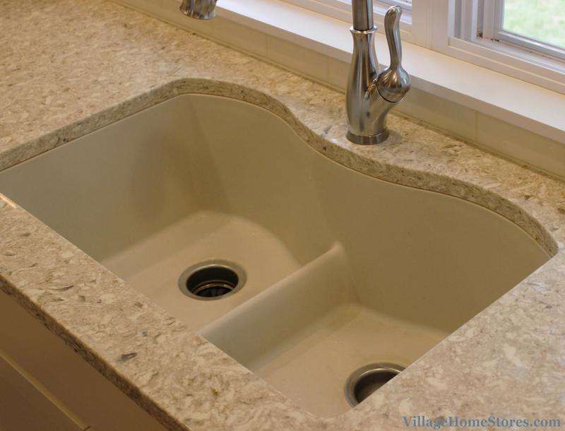 Elkay E Granite Sink In Biscuit