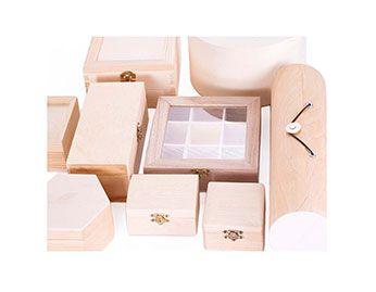 Cajas y Baules de Madera Material para Manualidades