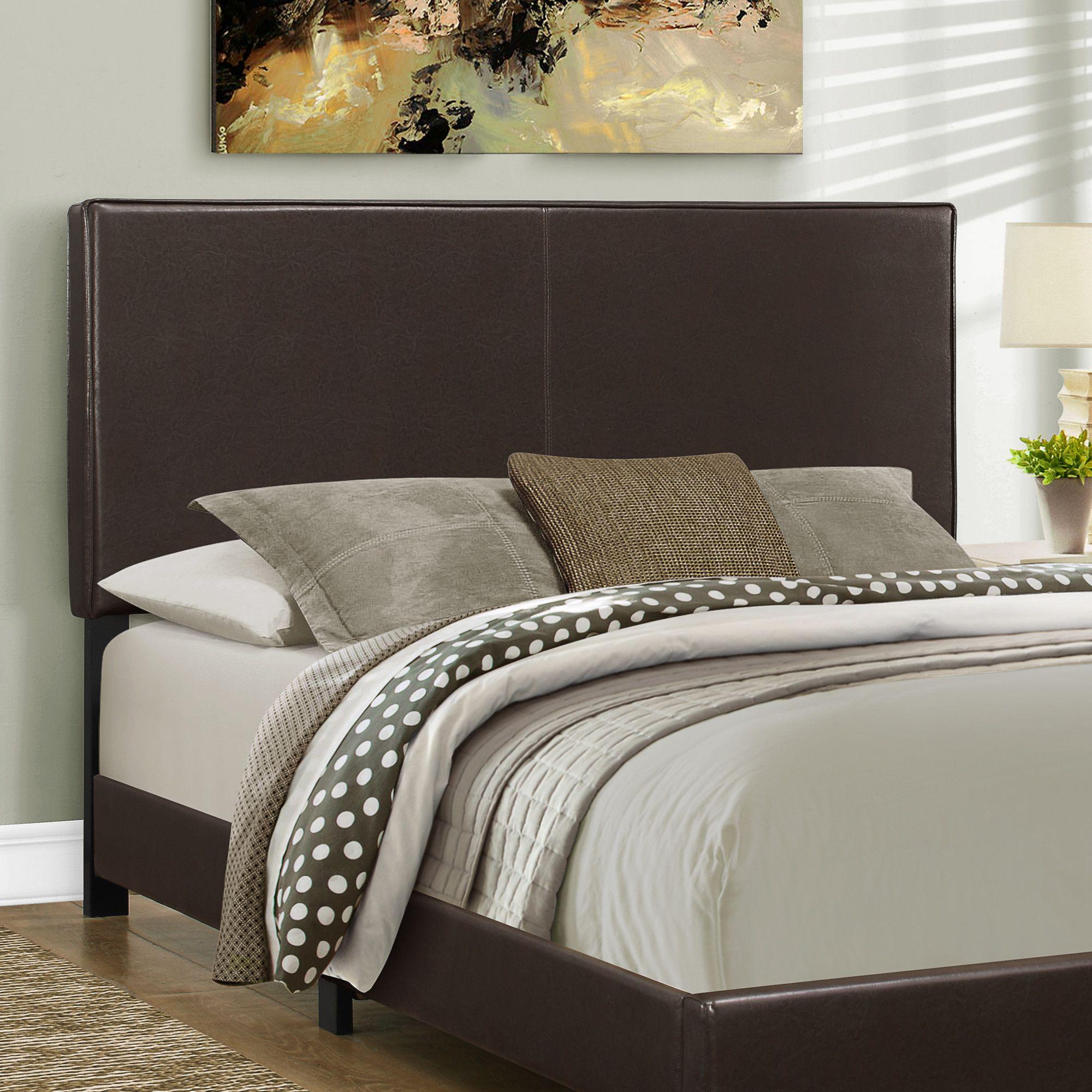 Queen Upholstered Panel Headboard Upholstered beds