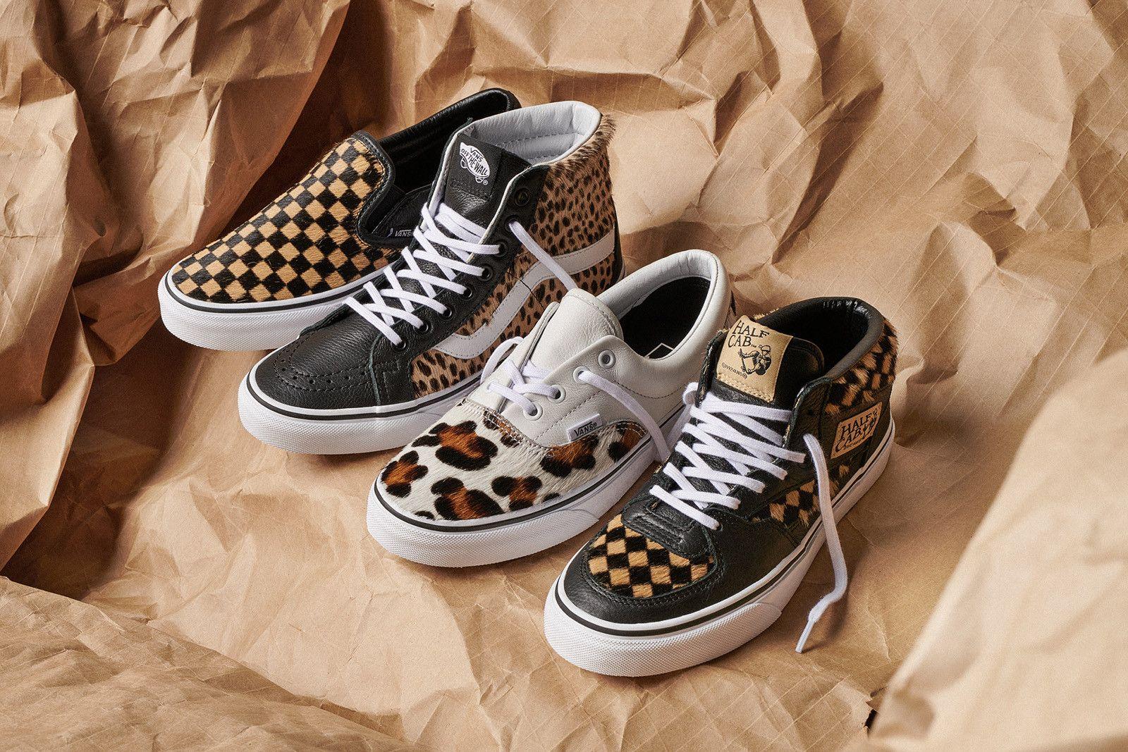 51b83a78ce3b5d Vans Unveil Calf Hair Classic Footwear Release Details Date Price Cop  Purchase Buy Shoes Trainers Sneakers Kicks Slip-On Half Cab Era Sk8-Hi  Cheetah Leopard ...