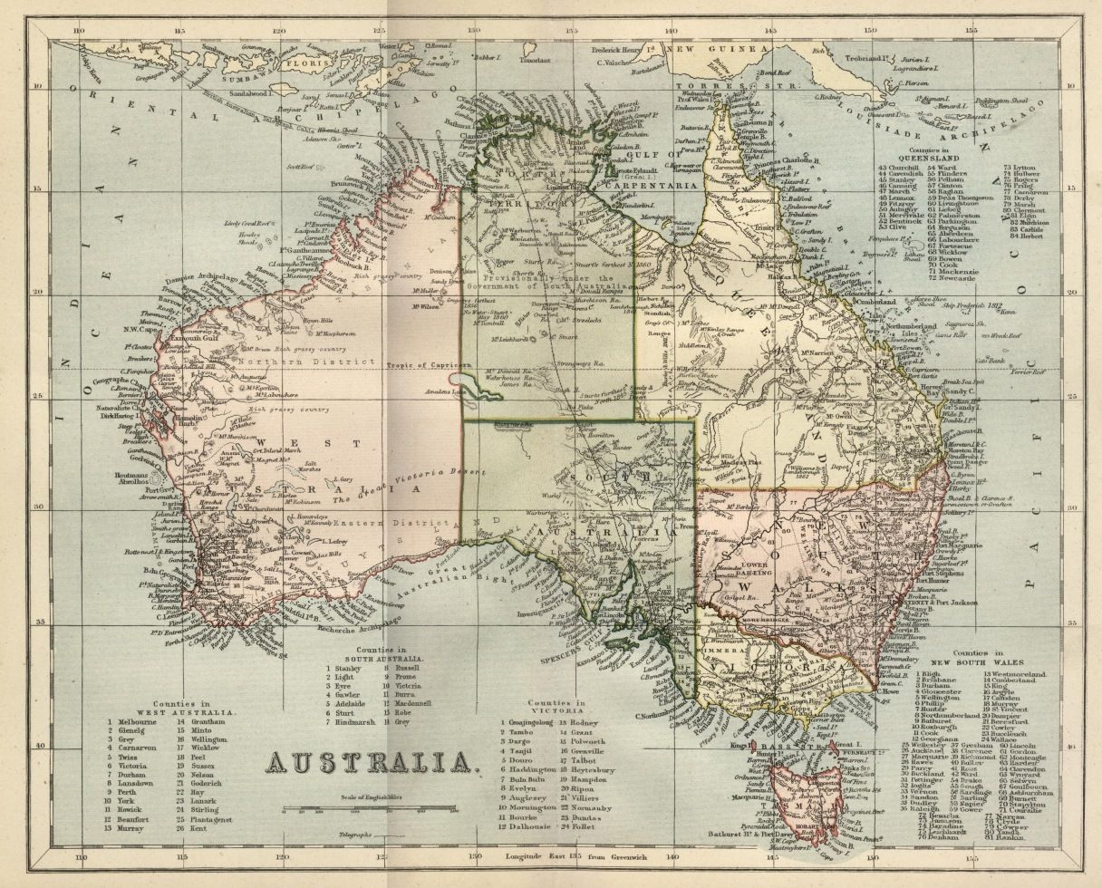 Australia Map Printable Free.Free Vintage Digital Stamps Vintage Printable Map Of Australia