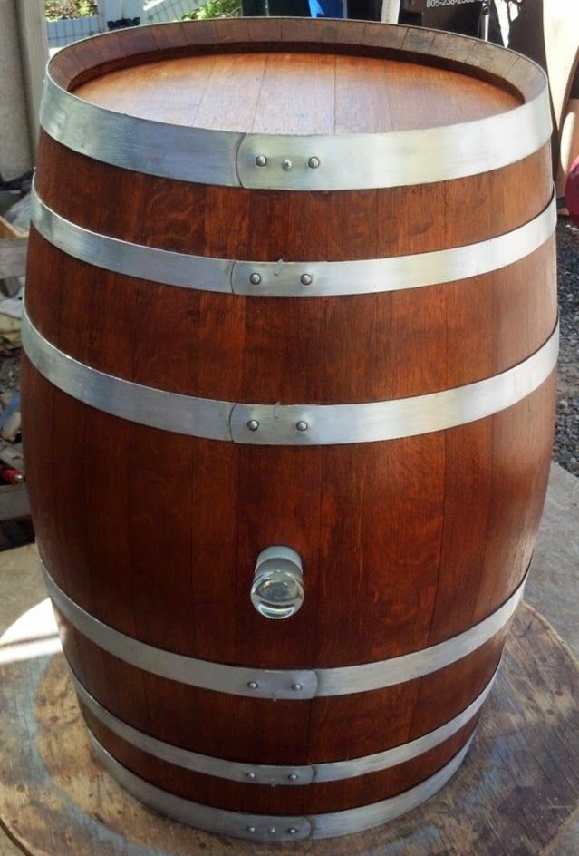 A Decorative Wine Barrel With One Of Those Beautiful Lux
