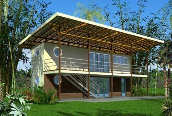 Casa con contenedores 7 casas arquitectura con - Casas prefabricadas de contenedores ...