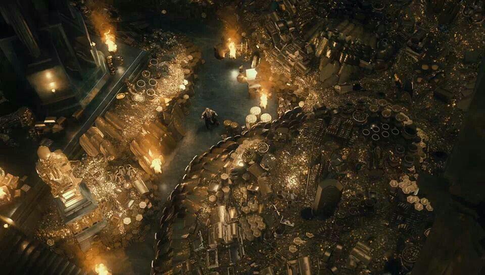 The Treasure Room Of Erebor Fantasy Inspiration The Hobbit