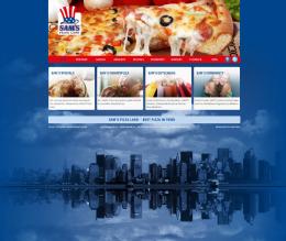 Neue Webseiten von 7 Sams Pizza Restaurants in der Schweiz mit Online-Marketing, CMS, Social-Media, Newsletter und Gutscheinshop