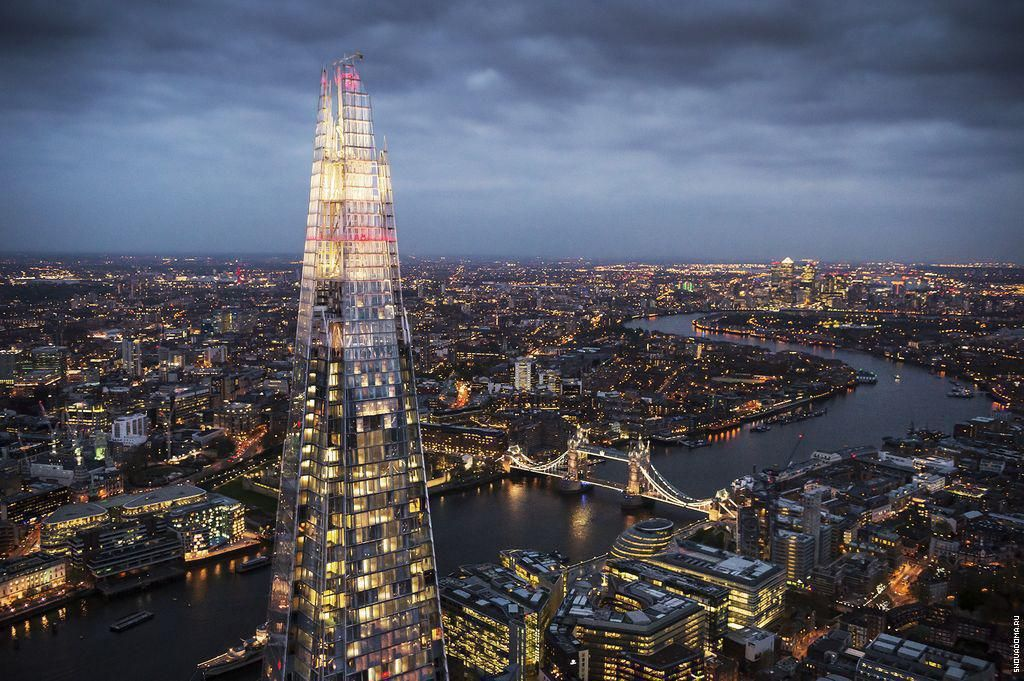 Башня Осколок, небоскрёб The Shard в Лондоне (с изображениями)   Небоскребы, Башня, Ренцо пиано