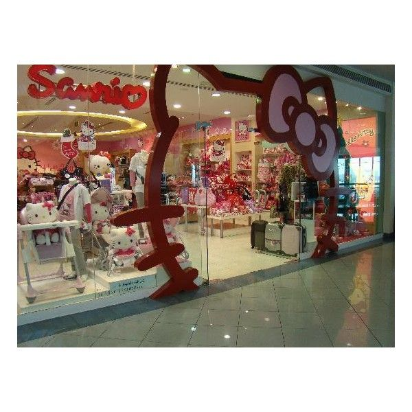 f2d8ec7fb hello kitty shop Picture of Marina Mall, Abu Dhabi ❤ liked on Polyvore  featuring shopping and places