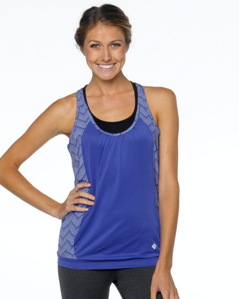 2015 Prana Activewear Gia Tank in Sail Blue at B-Fly Activewear: http://www.bflyactivewear.com