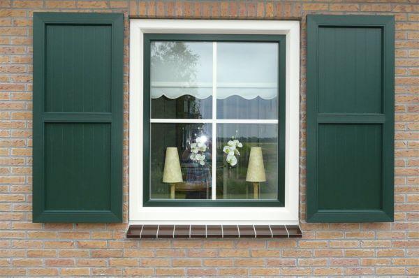 Afbeeldingsresultaat voor kunststof luiken kozijnen pinterest luiken - Blind patio goedkope ...