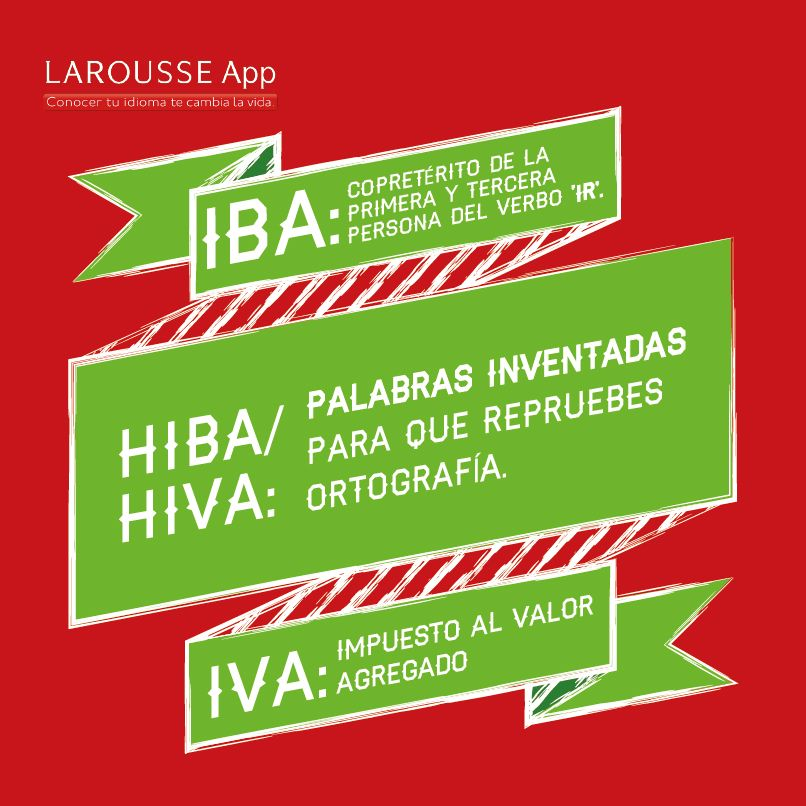 Iba Iva Hiba Aprender A Escribir Ortografía Lenguaje