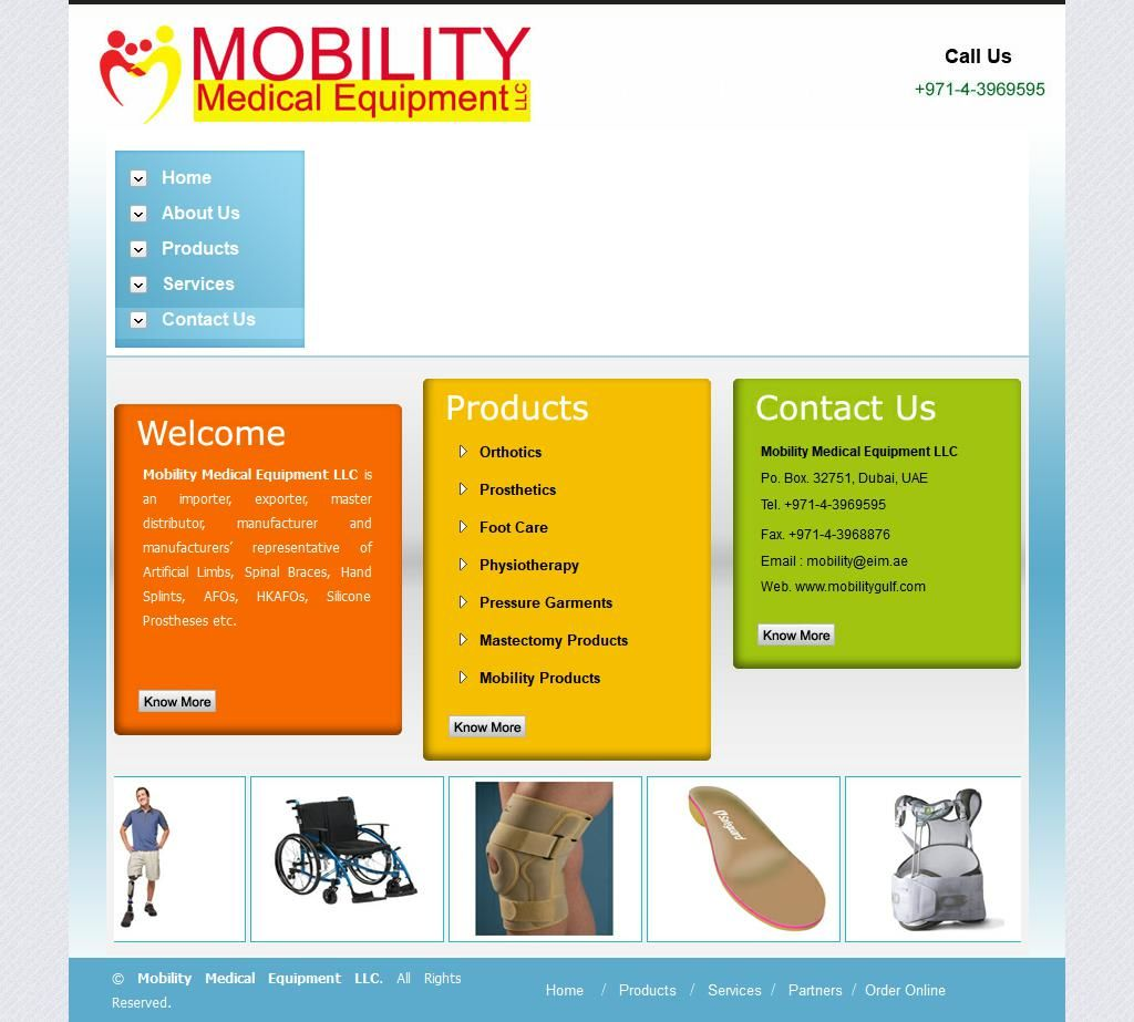 Mobility Medical Equipments Trading Company Sheikh Mohammed