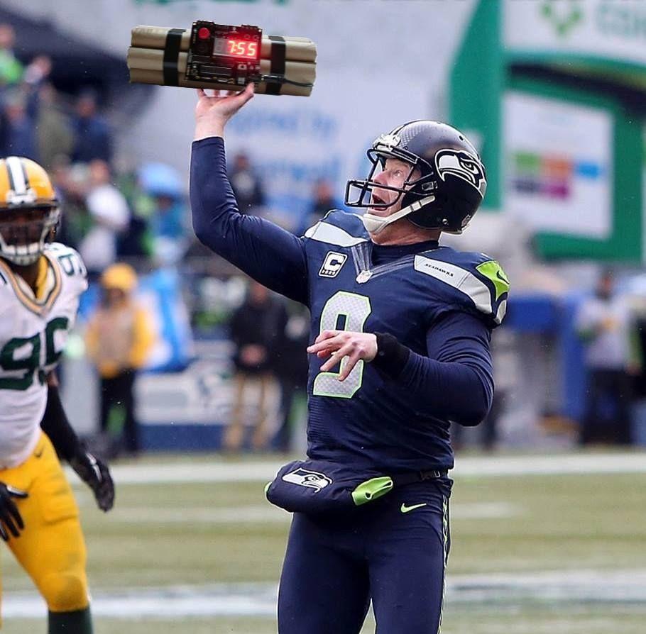 Stephydevious On Seahawks Nfc Championship Game Jon Ryan