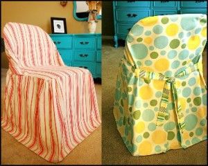 Free Pattern For Folding Chair Slipcovers For The Home