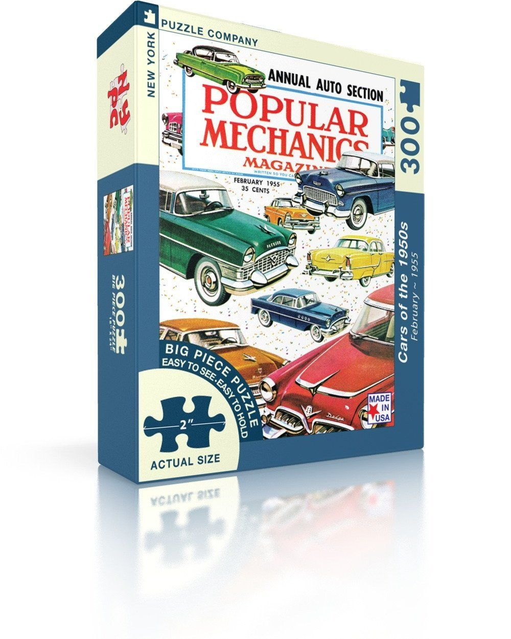 Cars of the 1950s Puzzle by New York Puzzle Co. 300