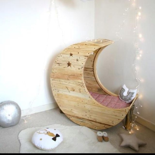 Cutest idea for a child's bedroom