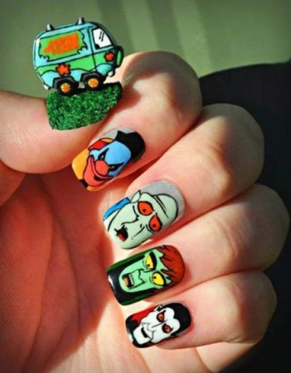 Ten Of The Nerdiest Nail Art Examples You Will Ever See Nails