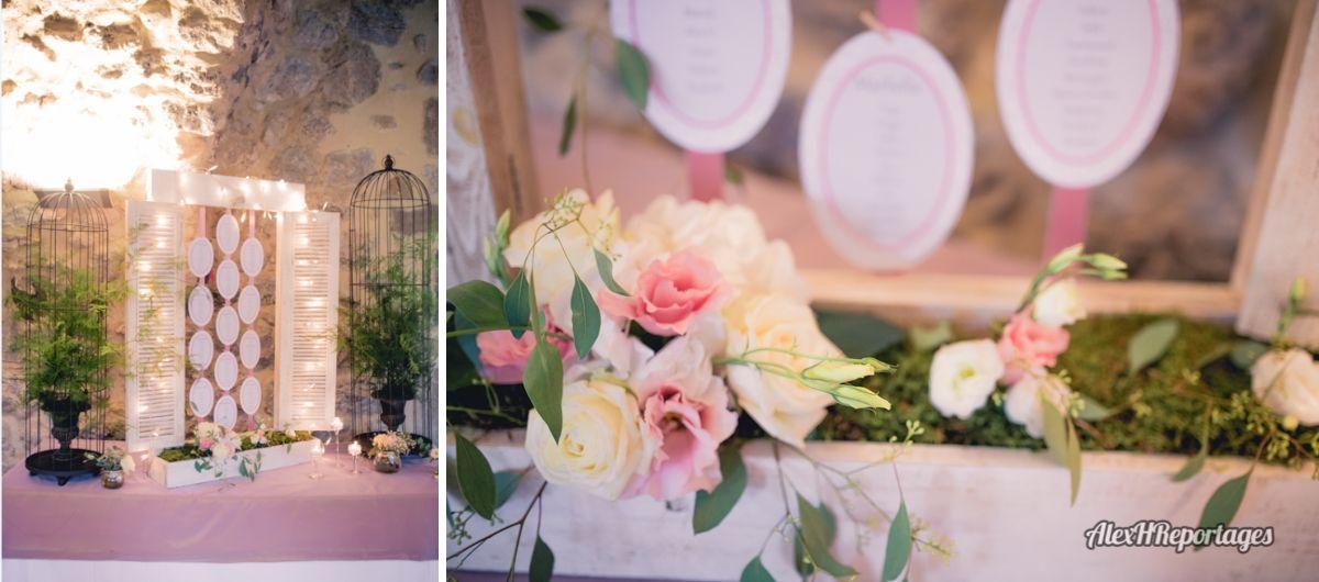Plan de table mariage - Décoration champêtre - Mariage Chanpêtre ...