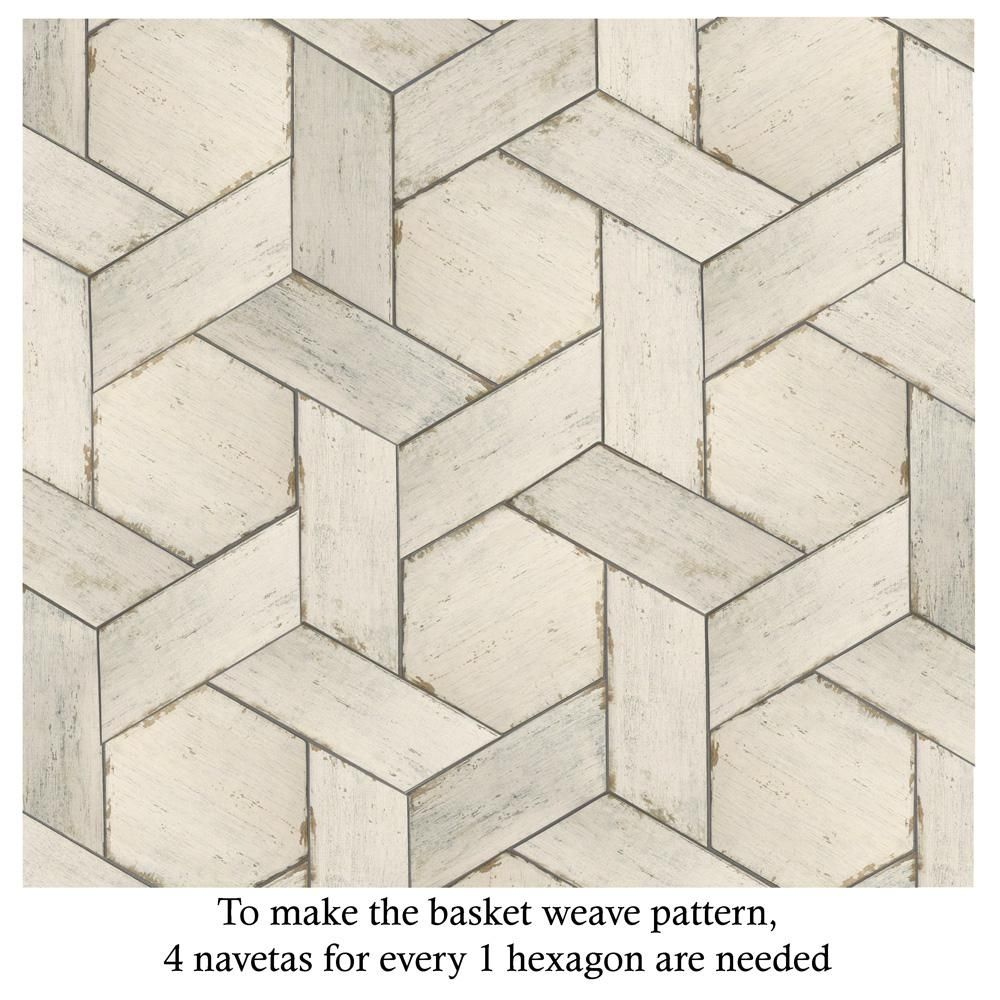 Merola Tile Retro Hex Blanc 14 1 8 In X 16 1 4 In Porcelain Floor And Wall Tile 11 05 Sq Ft Case Fnurtxbl The Home Depot Wood Look Tile Porcelain Flooring Flooring