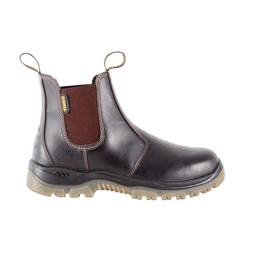 Nitrogen Men Size 7 Dark Brown Leather