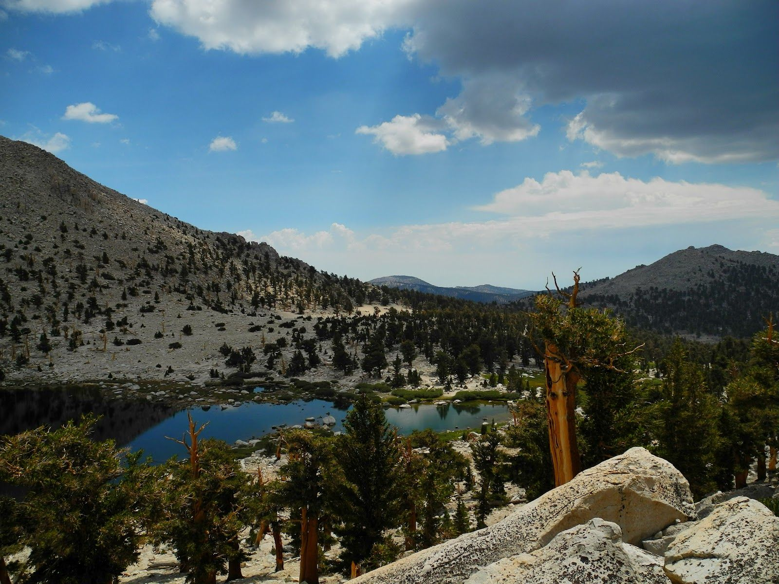 cottonwood pass pct | Chicken Springs Lake on the PCT