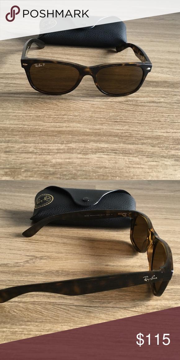 efbcdd8a858 Ray Ban Tortoise Wayfarer sunglasses Ray Ban wayfarer sunglasses. Tortoise  shell frame