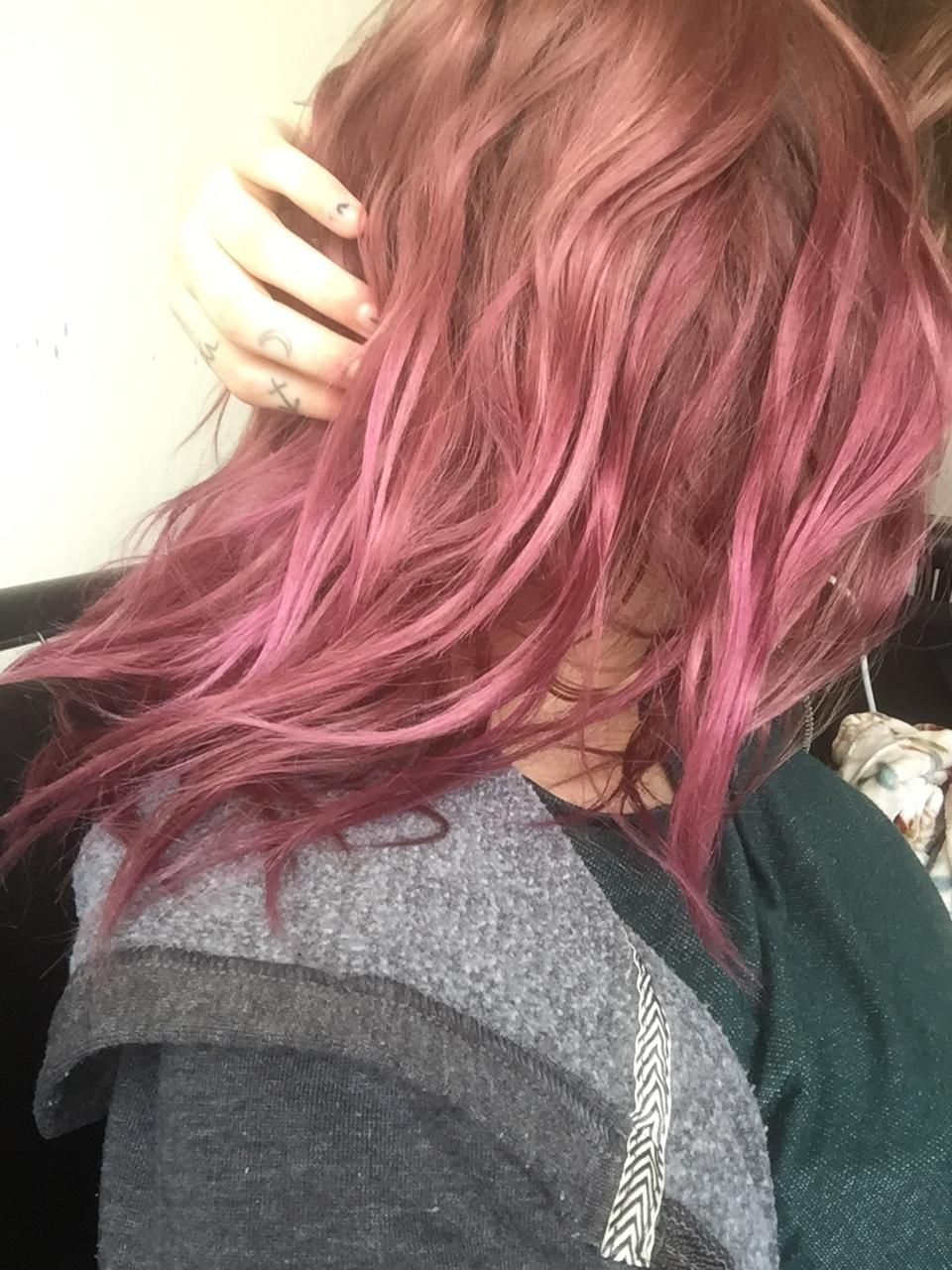 What Will Happen If I Put Bleach On My Faded Purple Pink Hair Hair Beauty Skin Deals Me Fashion Love Cute Style Women Magenta Hair Faded Hair Hair