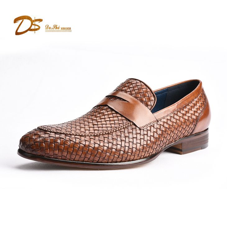 variety styles of 2019 sale uk moderate price Gentlemen fashion low cut keeper strap slip on leather ...