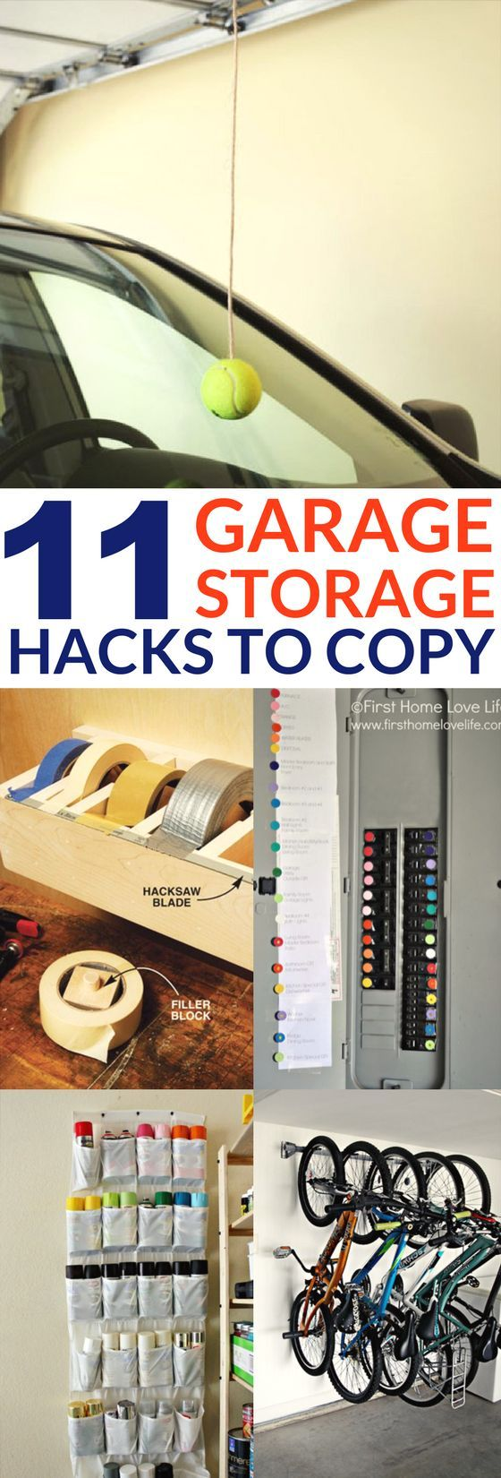Garage Hacks: 11 Ways to Organize With DIY Projects ...