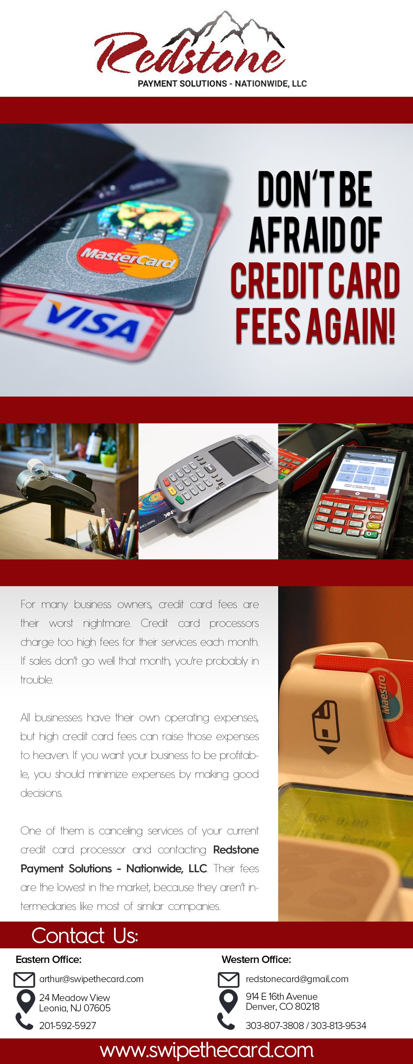 Redstone Nationwide is a direct credit card processor