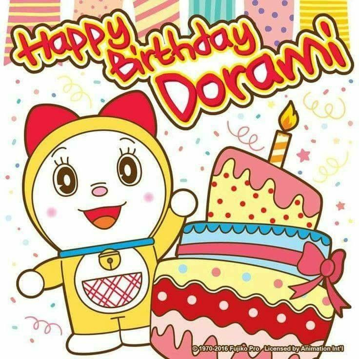 Felicidades Dorami 0300ef3b691837668ebc75f8417ec184