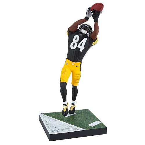 Steeler's fans can proudly display this intricate Antonio Brown NFL Series 32 Action Figure.