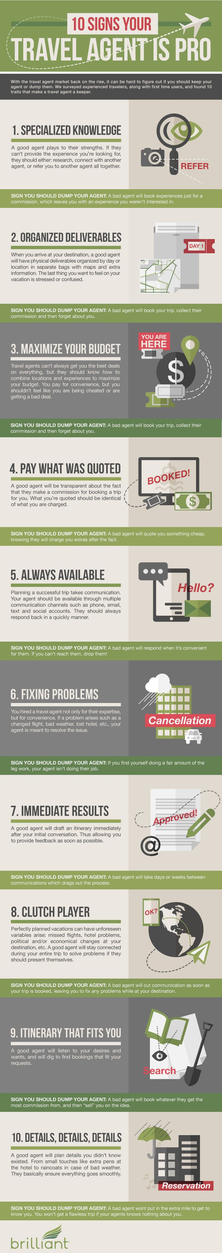 10 Signs Your Travel Agent is Pro
