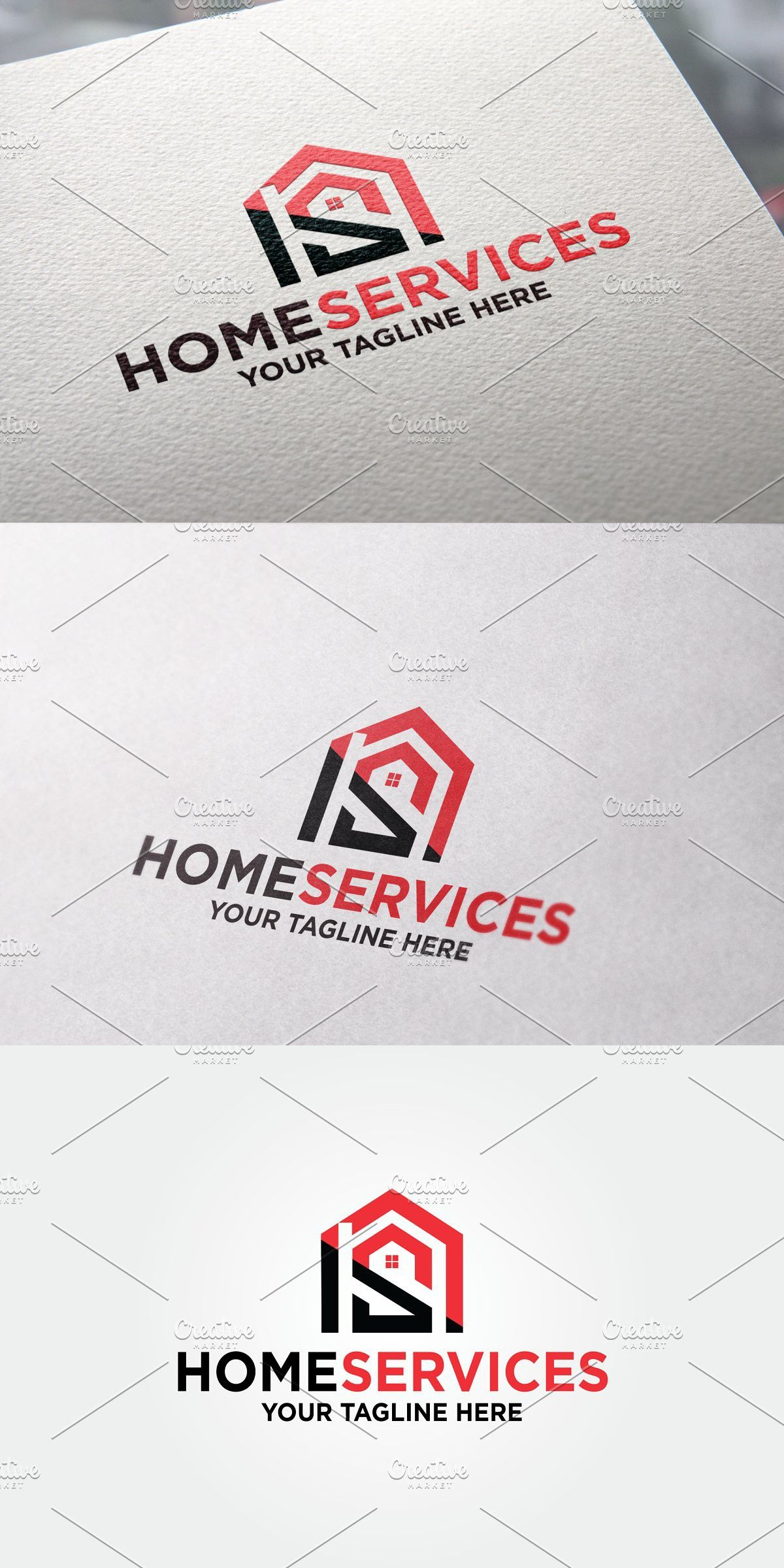 Home Services Logo In 2020 Logo Templates Service Logo Logos