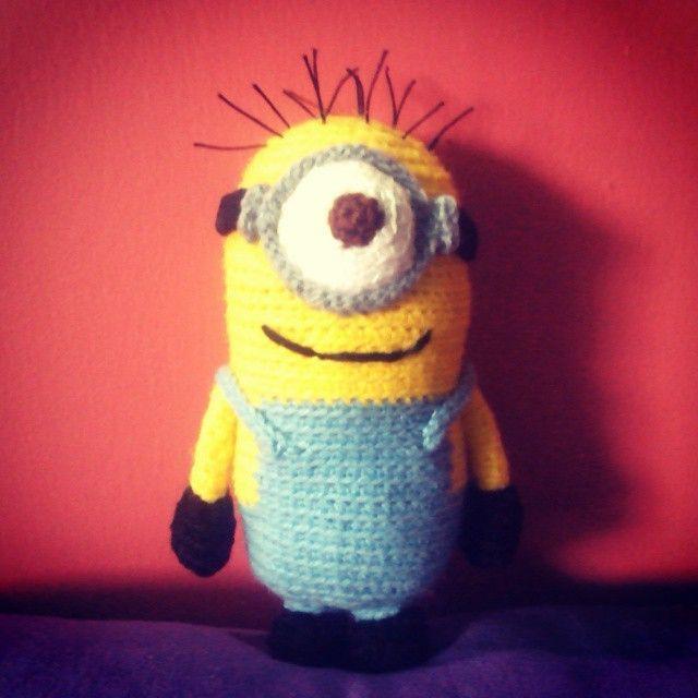 minion amigurumi, minion crochet, minion crochet pattern, minion ...