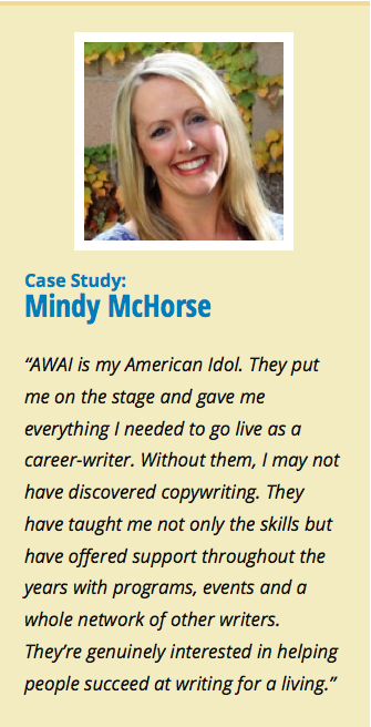 For some, it's a bad boss that pushes them to look for a new opportunity. Or a long commute. Or unfulfilling work. For Mindy McHorse, it was all three. Read on to learn how Mindy went from corporate refugee to six-figure copywriter.